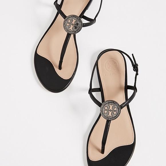 3e82d380278d NWT Tory Burch Liana Flat Sandals
